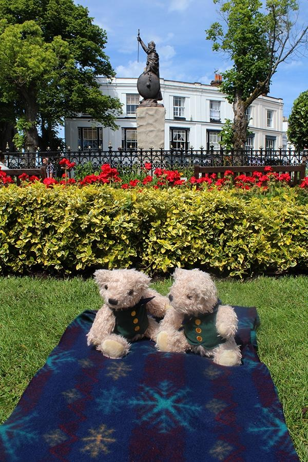 Abbey gardens Winchester little binky bears