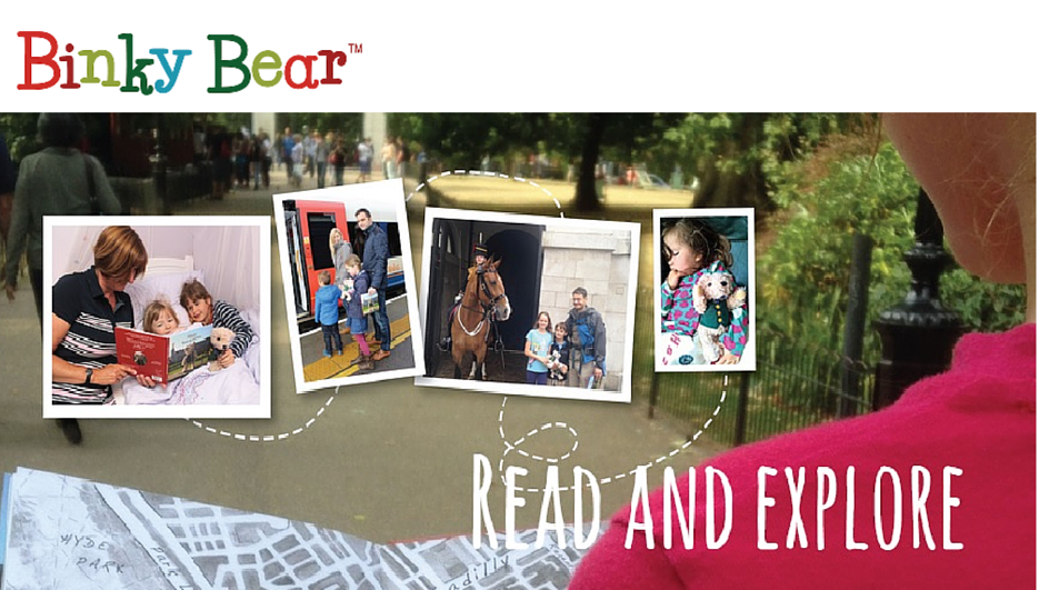 A Binky Bear Walk Read And Explore Books For Kids