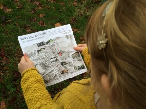 The Trail Maps show the route Binky took in each book.