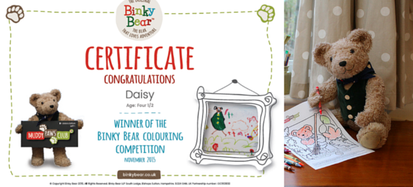Binky Bear Picture Competitions