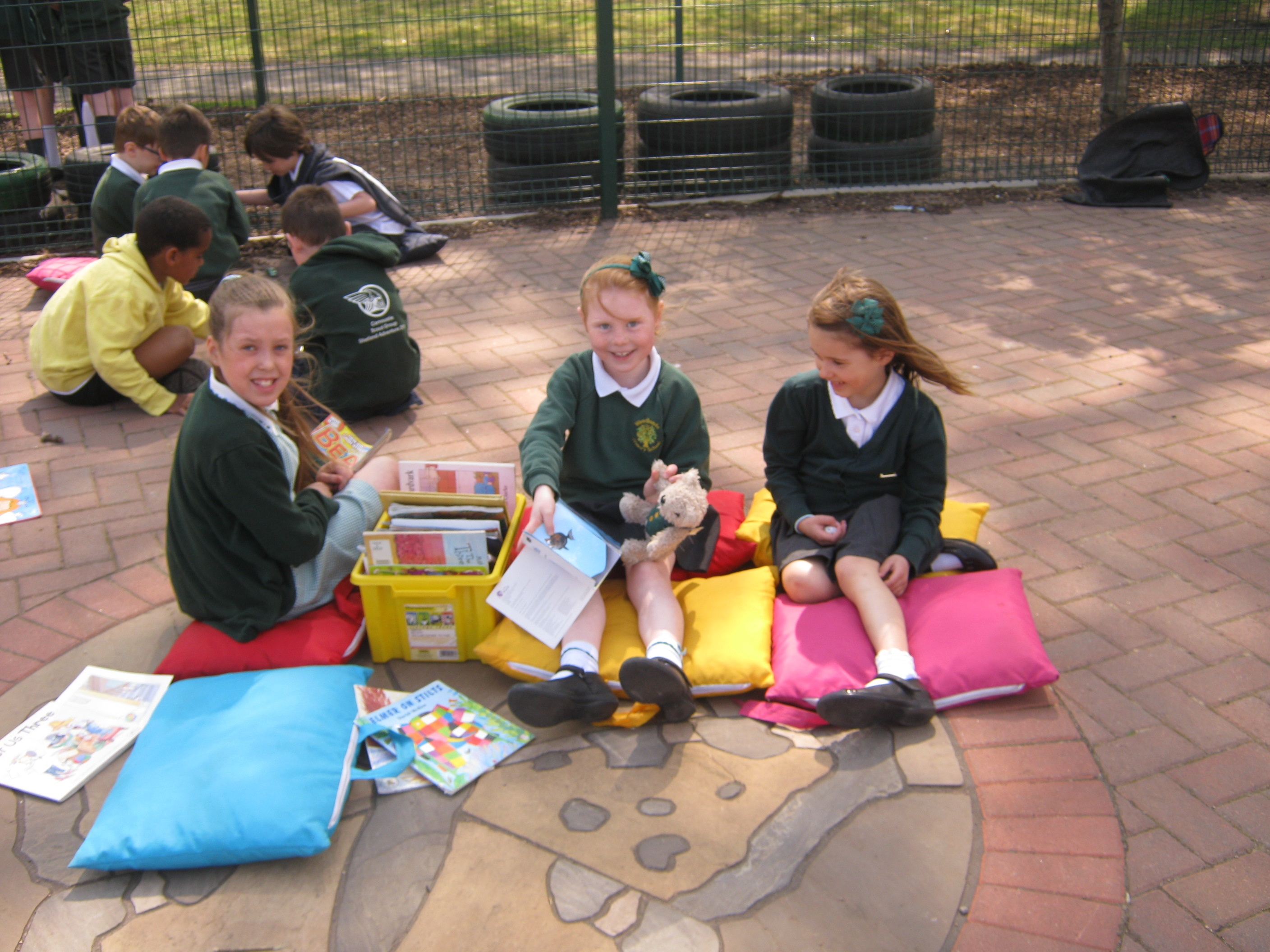 binky-bear-at-woodlands-primary