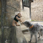 An out-take from Binky in Trouble - Binky and Squirt at Kingsgate, Winchester