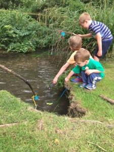 fishing 3 boys