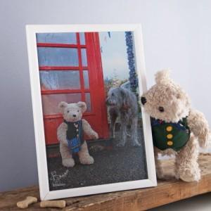 Binky Bear and Squirt print