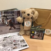 binky-bears-alresford-gift-set-including-a-copy-of-binkys-big-adventure-a-take-out-activity-map-and-a-binky-bear