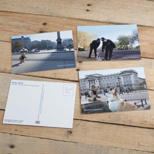 Iconic Binky Bear Postcards