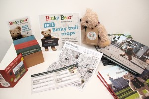 Binky Bear: Books+Maps+Bears+Trails