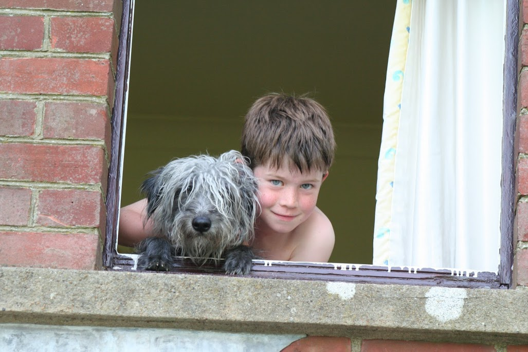 Squirt and Will - with thanks to the Evason Family